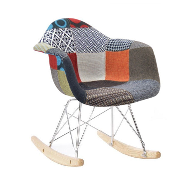 Kids Rocking Fabric Chair  PC-018R-Ro -  كرسي هزاز للأطفال - Shop Online Furniture and Home Decor Store in Dubai, UAE at ebarza