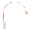 Arc  Lamp with natural marble base BP0078-RG