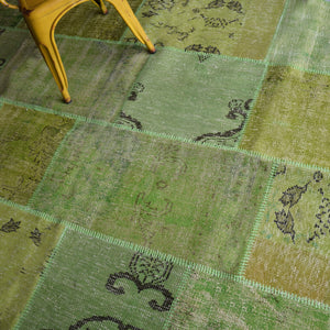 Bursa Handmade over dyed RUG 230X160  Cm PW012