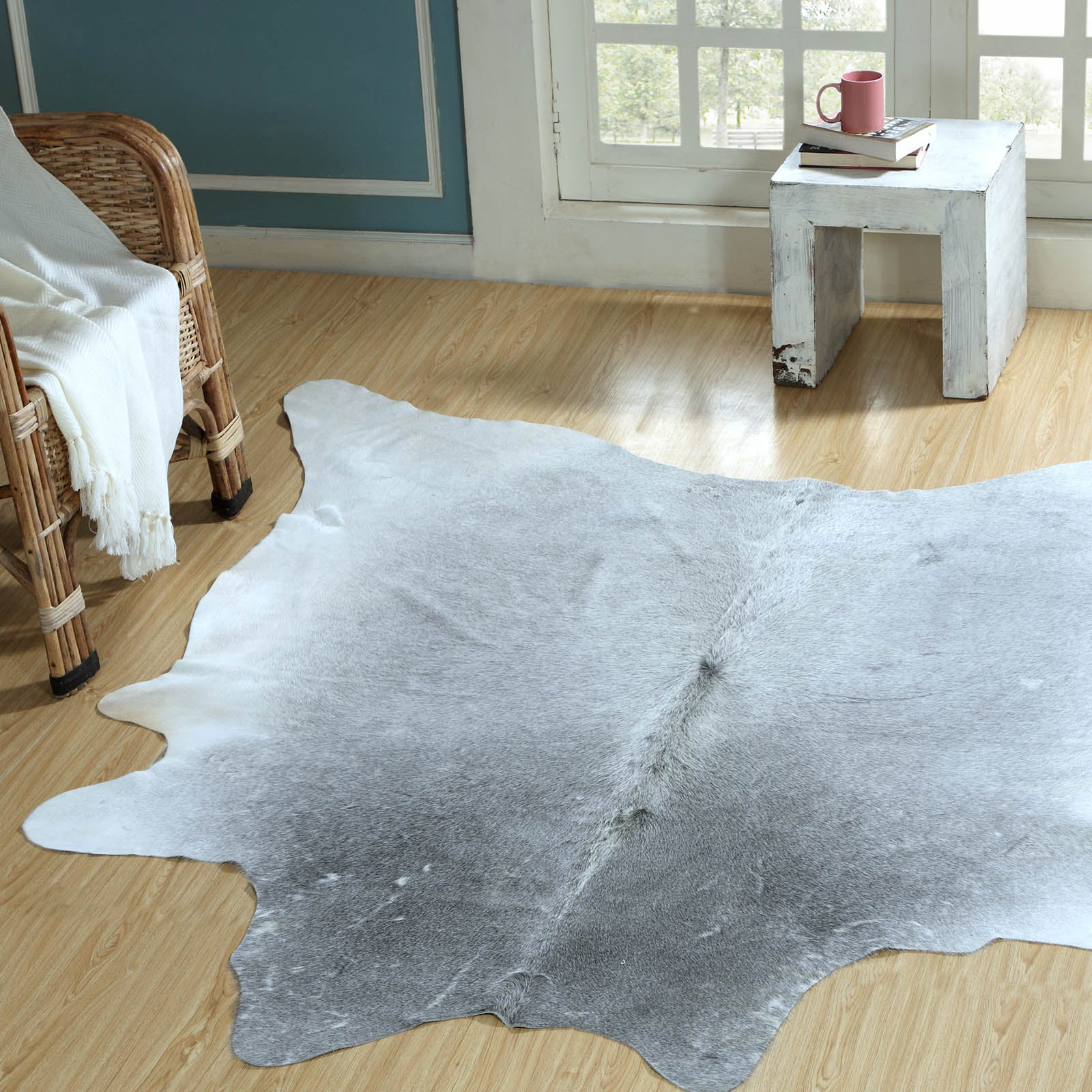 230X160 cm Natural Cowhide  Rug  COW-0085