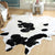 Pre-Order 50 days delivery 230X160 cm Natural Cowhide  Rug  COW-0099
