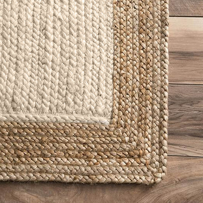 400X250 cm Braided handmade Jute Rug Braided-001-Grand