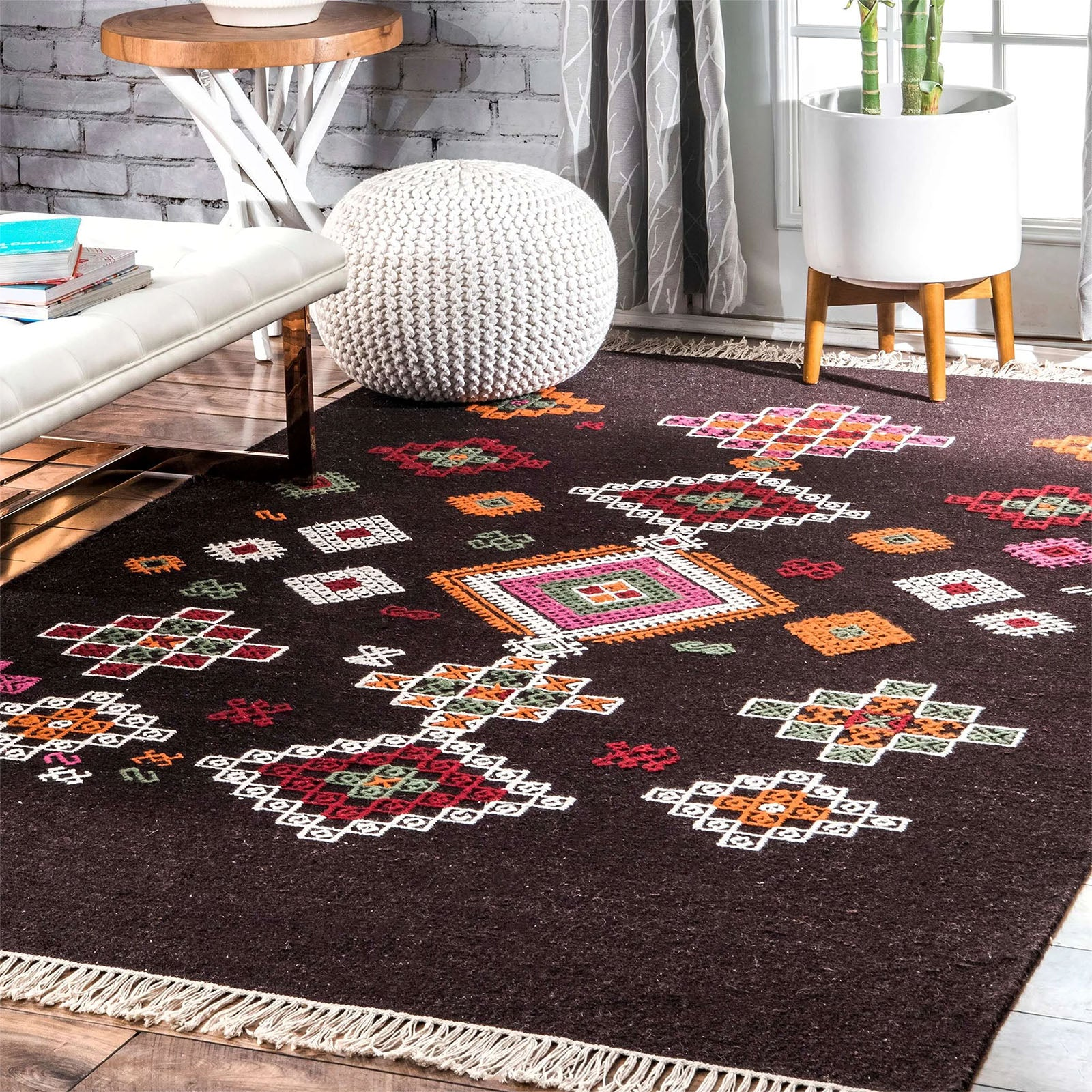 230X160  handmade rug  JH-2712-L -  230X160 سجادة يدوية الصنع - Shop Online Furniture and Home Decor Store in Dubai, UAE at ebarza