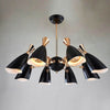 8 heads Mid century   pendant  Lamp  CY-NEW-012-Gold