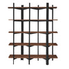 Solid wood 5 levels shelf SP17359XL - ebarza