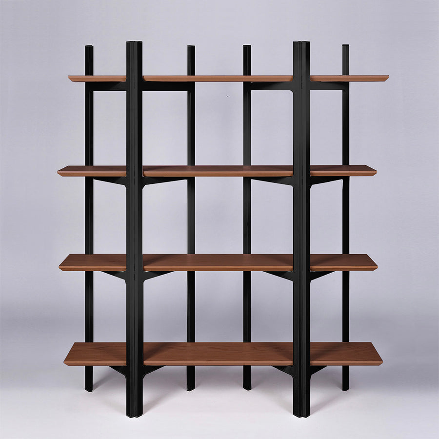 Solid wood 4 levels shelf SP17359 - ebarza