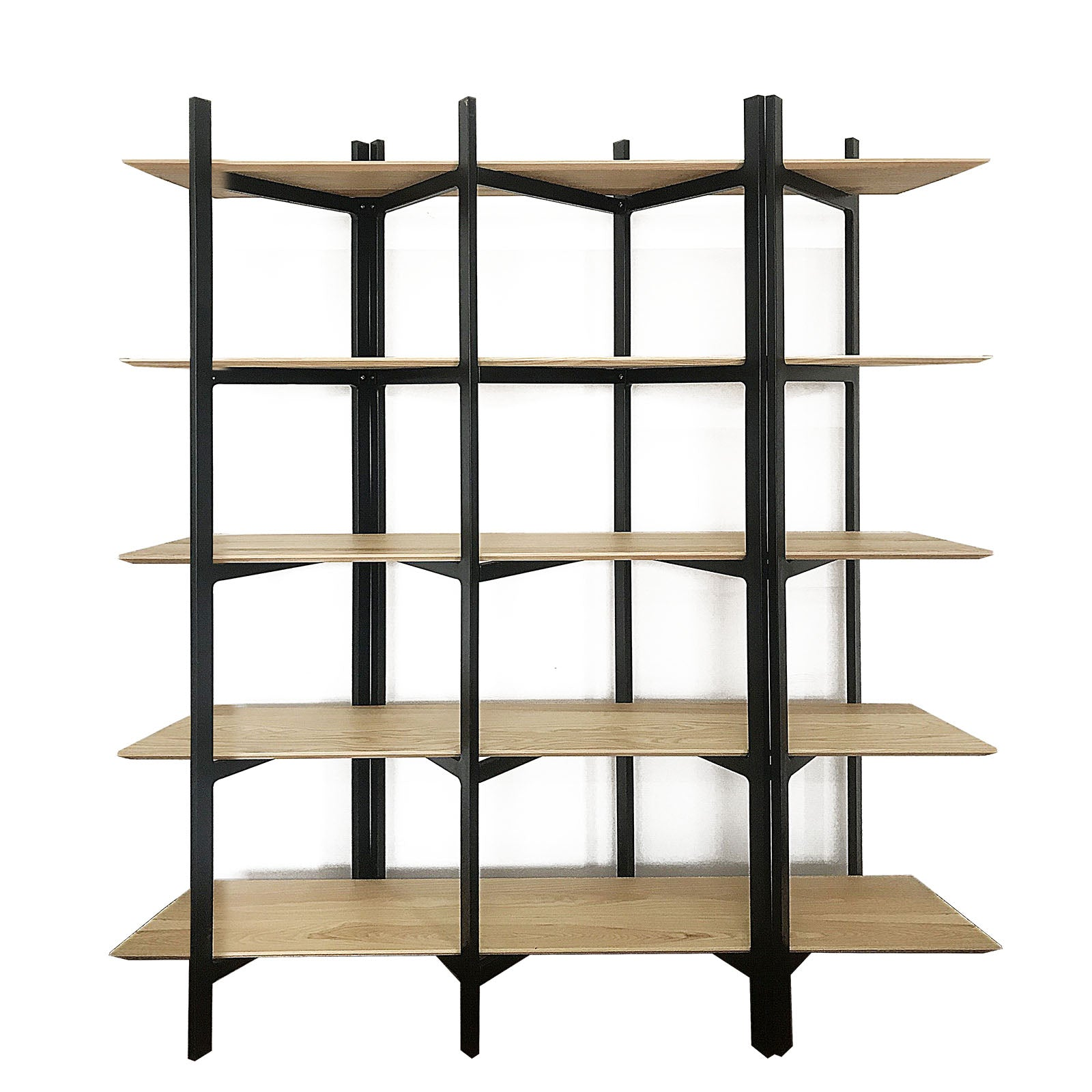 Solid wood 5 levels shelf SP17359XL-N