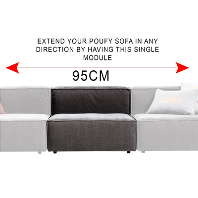 Pre-Order 60 days delivery Pouffy Lego design sofa  POUFFY001