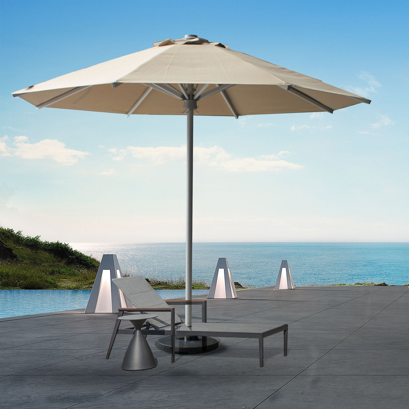 large outdoor umbrella MS-1602-2