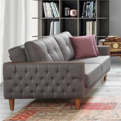3+1 Set of 1 Ege Sofabed+ 1 armchairs   EGE005GS - ebarza