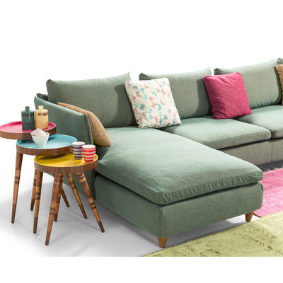 Sofa - Milano U Shape Sofa And 7 Cushions MI008