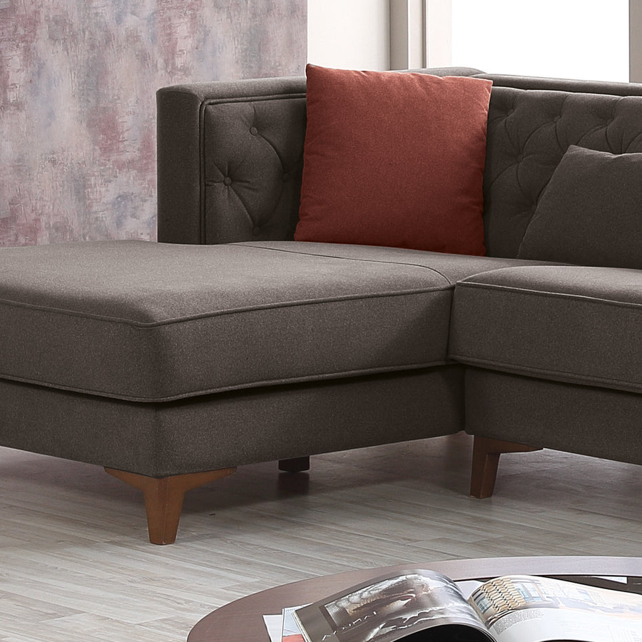 Sofa - Soho  Lshape Sofa And 4 Cushions SH009R