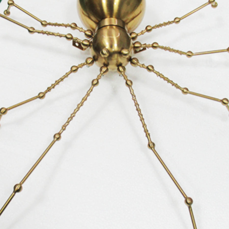Araneid Spider sculpture wall decor  BB2312 - ebarza