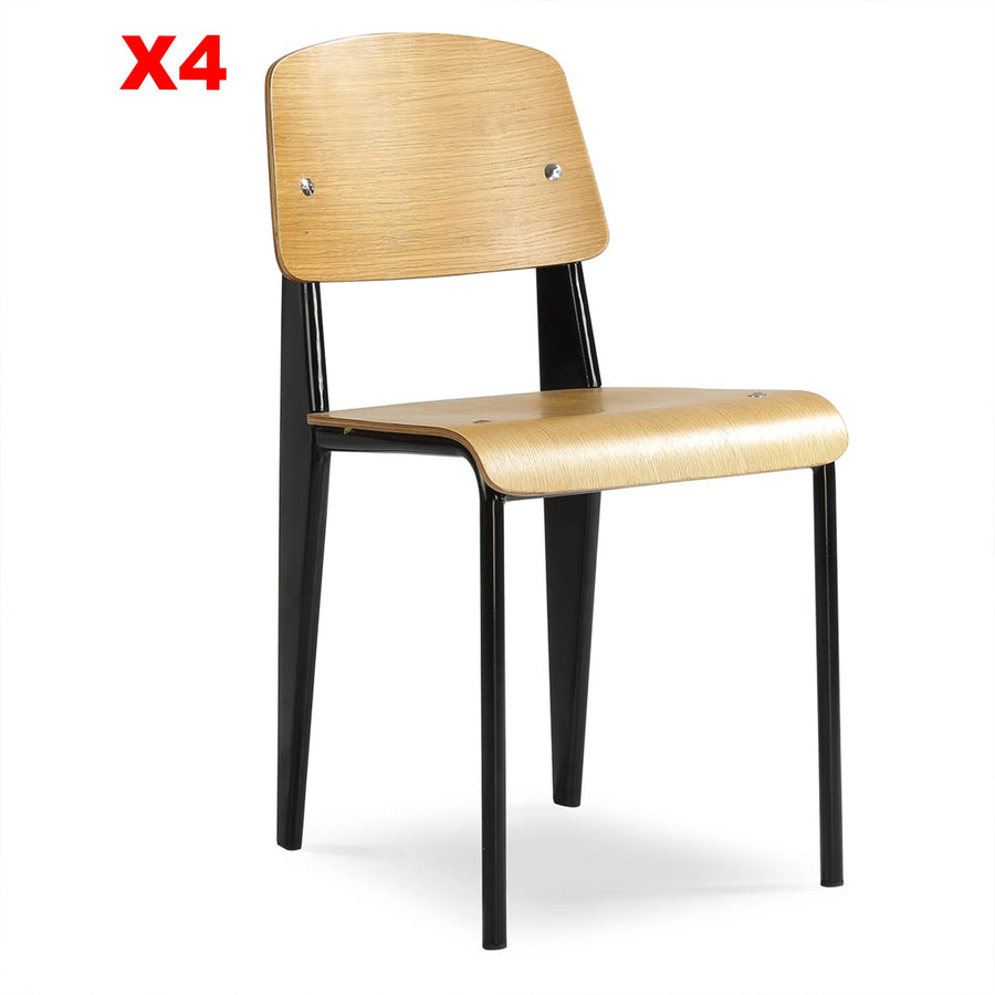 Set of 4 Retro Dining Chair  WS-005