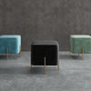 Pre-Order 30 days delivery Gela  Stool B2395-black