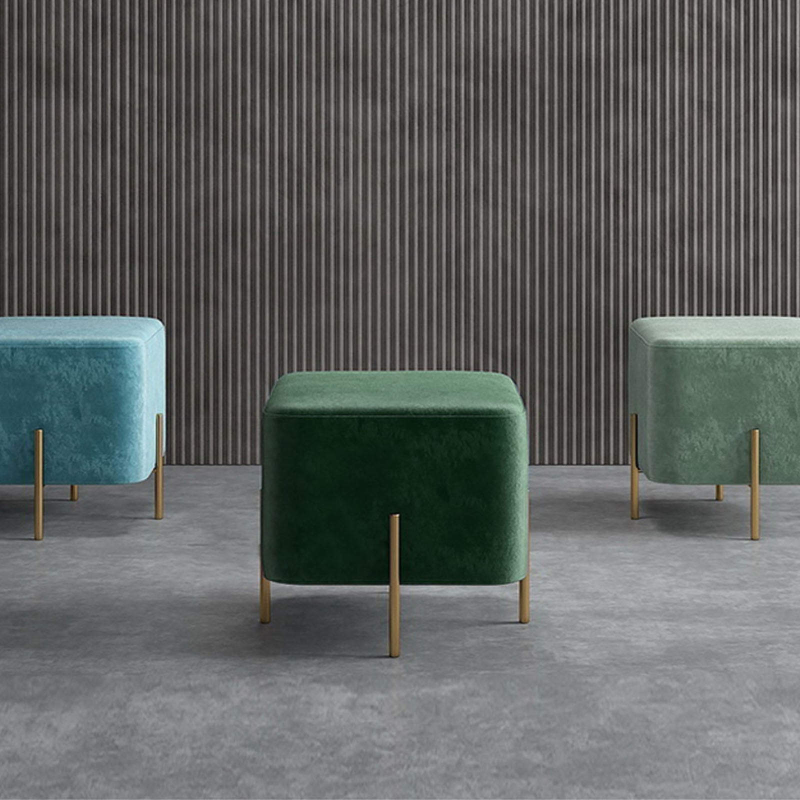 Gela  Stool TG-229-GREEN