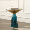 Pre-Order 40 days delivery Latina Side table  TG-27-BL-CT8485- 50 -BL