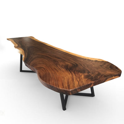 LIVE EDGE DINING TABLE  LV004-B
