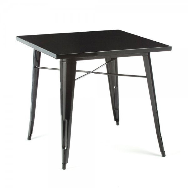 Industrial table  80 cm TXBLACK