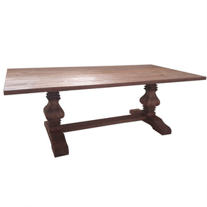 French Style pedestal Dinning Table 240 cm KAVIN005