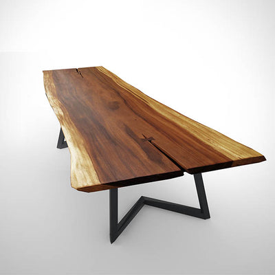 LIVE EDGE DINING TABLE  LV702-A - ebarza