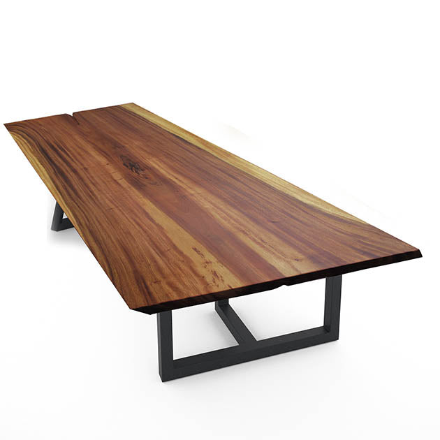 LIVE EDGE DINING TABLE 180-82-06 LV705-A -  طاولة عشاء لايف ايدج - Shop Online Furniture and Home Decor Store in Dubai, UAE at ebarza
