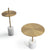 Pre-Order 30 days delivery Espoo marble side table  CT8684-44-BR