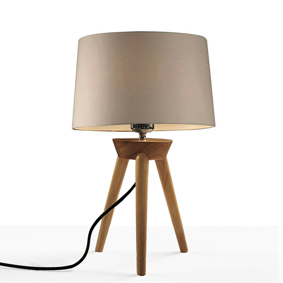 Solid Wood table lamp BPTD060-W - ebarza