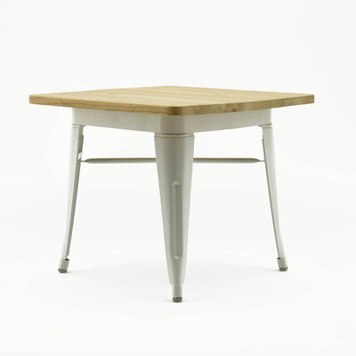 Kids Table  with rounded edge solid wood KT01