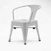 Kids Chair-Metal-K01-W