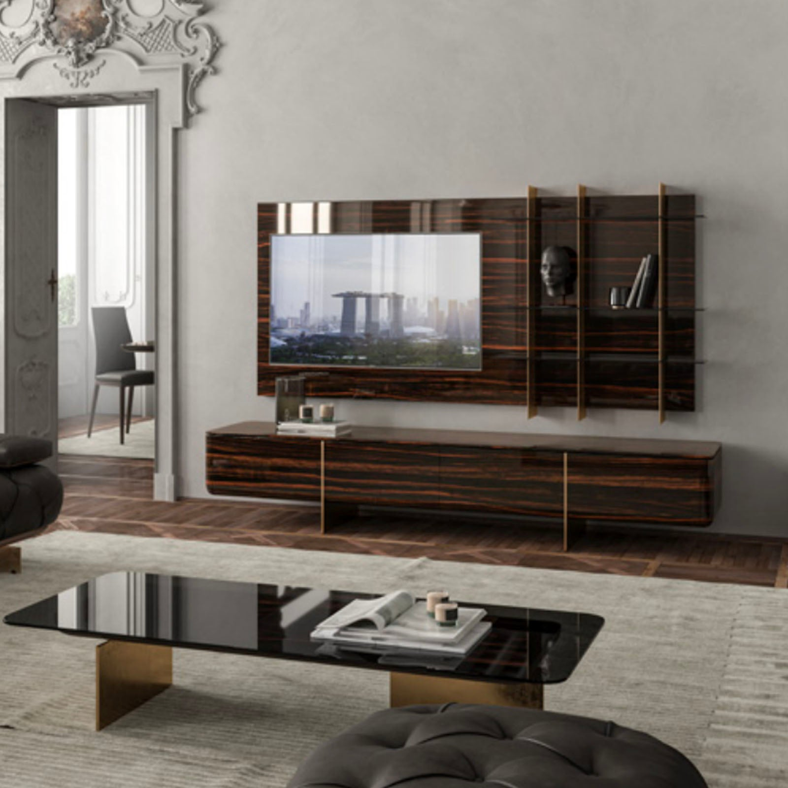 ARPAGE  TV unit  ARPAGE-TV -  طاولة تلفزيون أرباجي - Shop Online Furniture and Home Decor Store in Dubai, UAE at ebarza