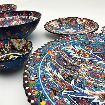 Handmade  Kutaya Turkish ceramic Bowl  KUC028
