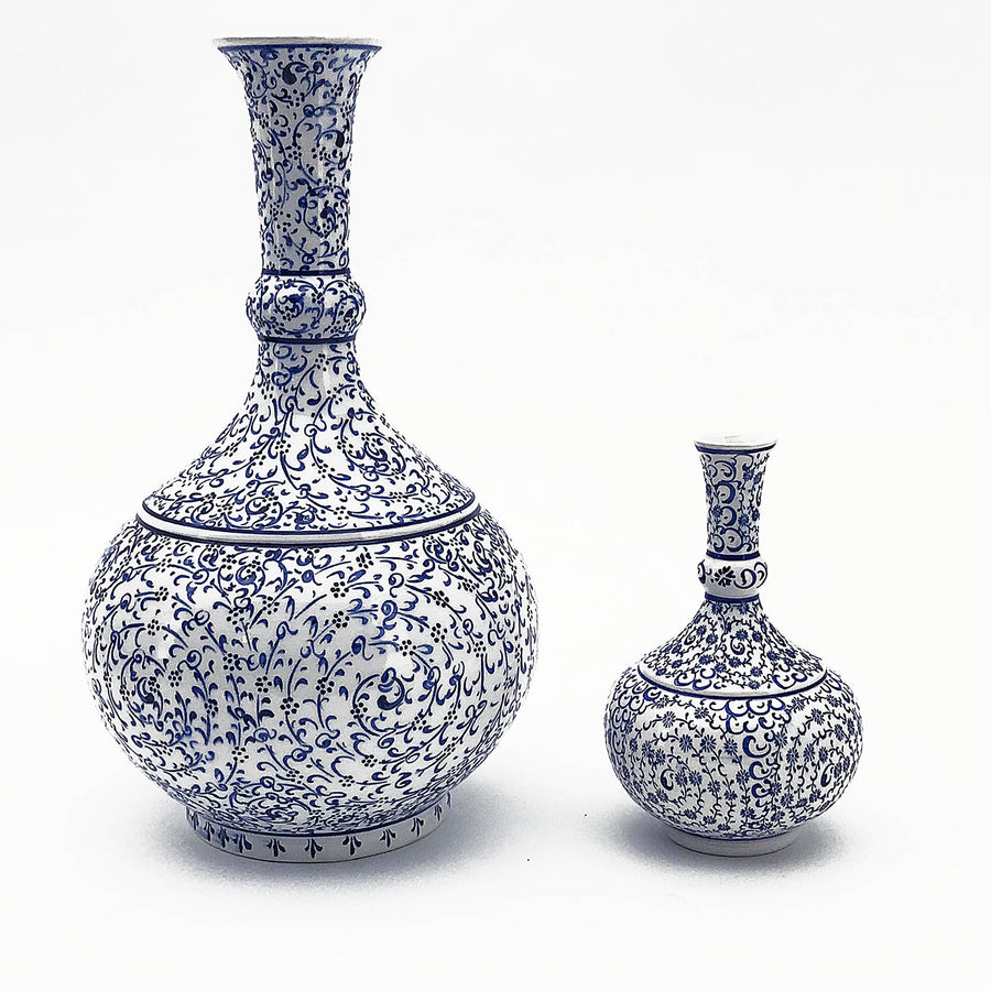 Handmade   Kutaya Turkish ceramic VaseH KUC005