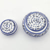 Handmade Set of 2  Kutaya Turkish ceramic box  KUC011