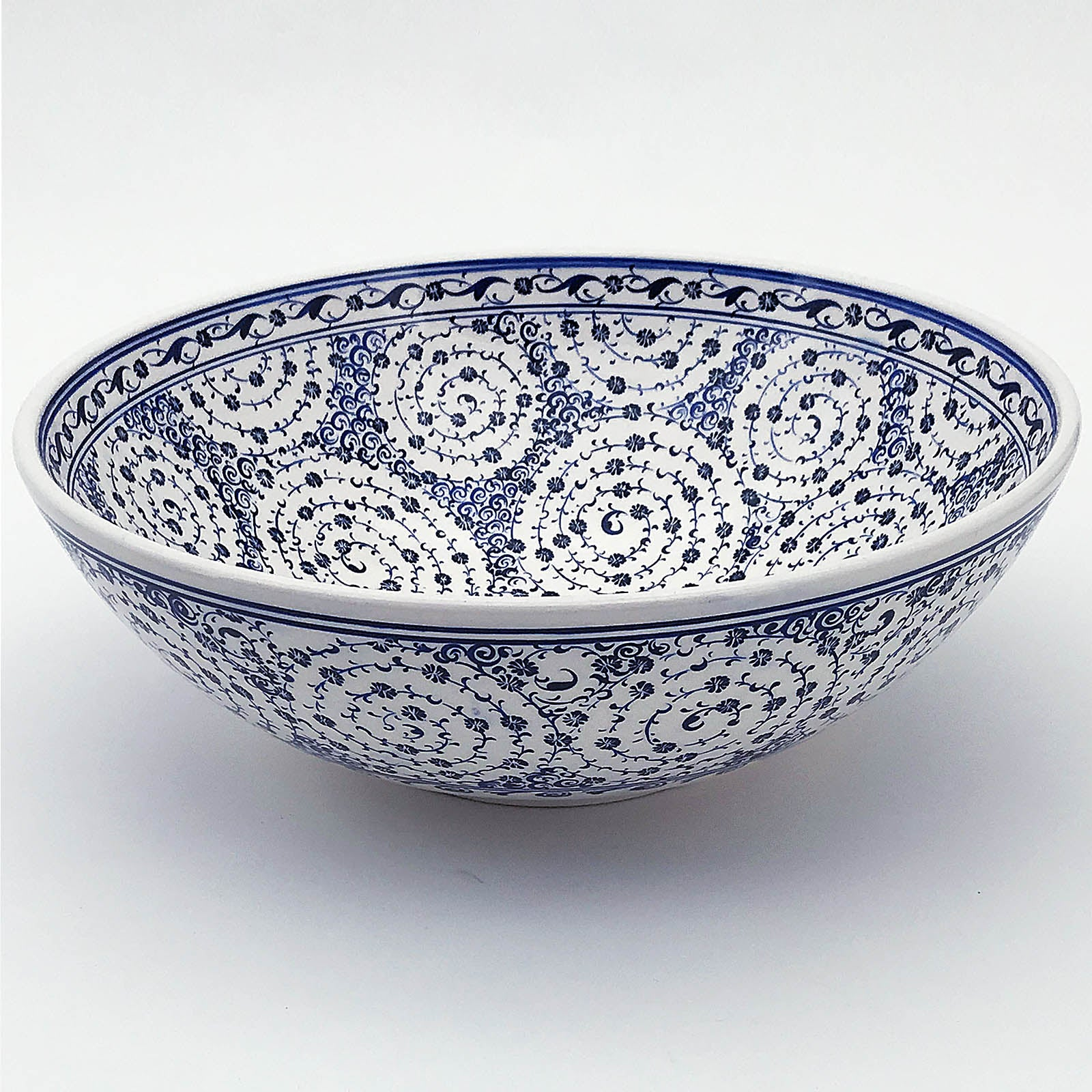 Handmade   Kutaya Turkish ceramic Bowl  KUC008