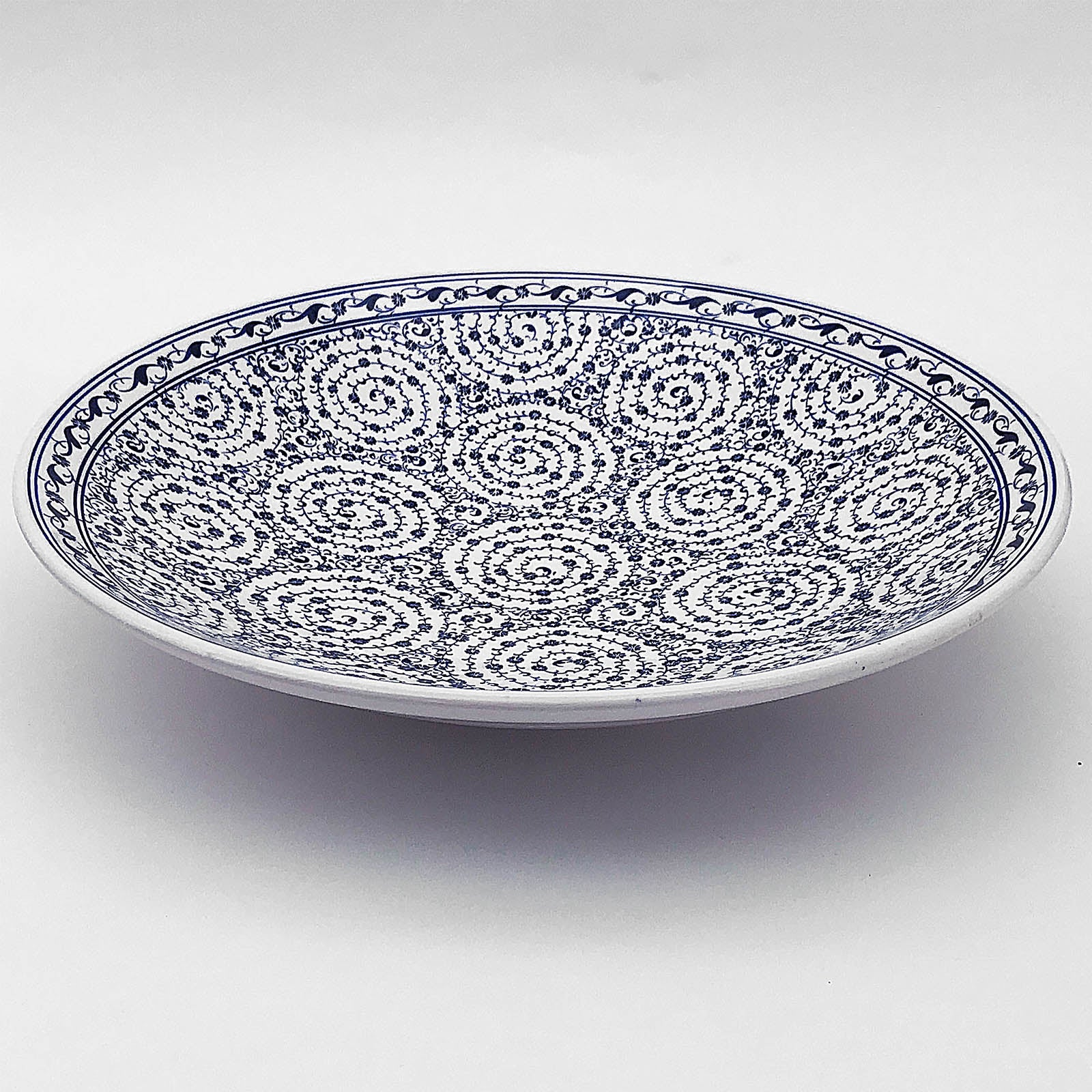 Handmade Kutaya Turkish ceramic plate  KUC012