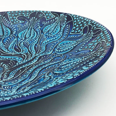 Handmade Kutaya Turkish ceramic Plate KUC003