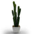 Handmade   decorative artificial plant+planter pot  P0178