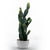 Handmade   decorative artificial plant+planter pot  P01773