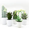 Handmade   decorative artificial plant+planter pot   P01011