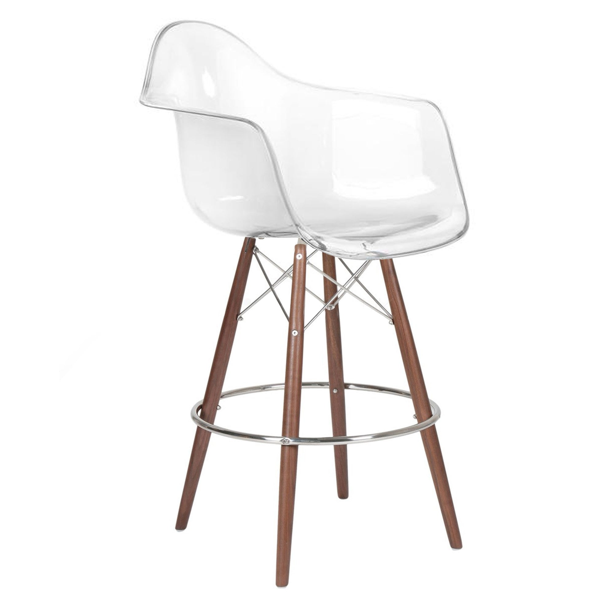 Bar Chair-Acrylic MSB00129CW -  كرسي مرتفع - اكريليك - Shop Online Furniture and Home Decor Store in Dubai, UAE at ebarza
