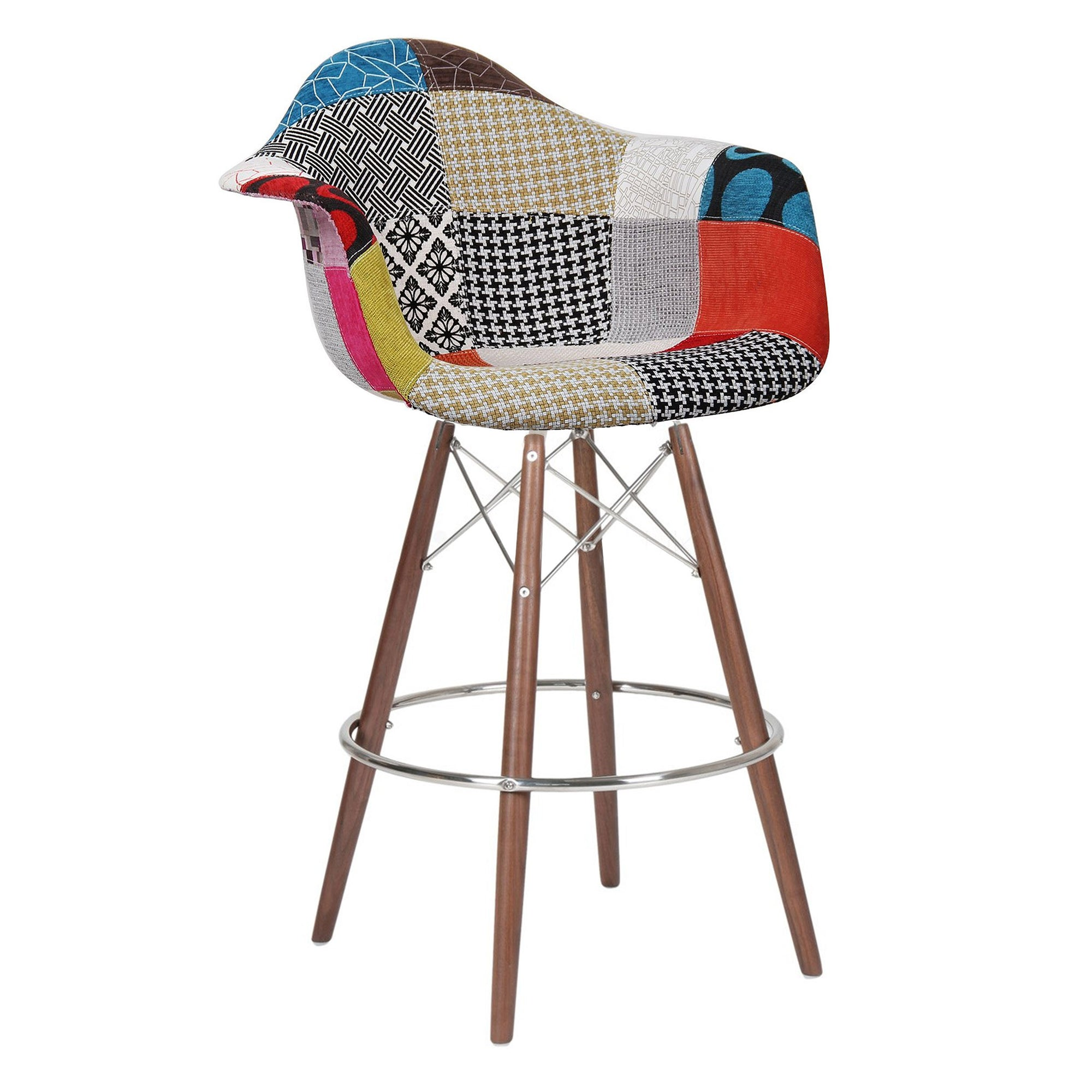Bar Chair-Fabric- MSB0011F-W -  كرسي مرتفع - قماش - Shop Online Furniture and Home Decor Store in Dubai, UAE at ebarza
