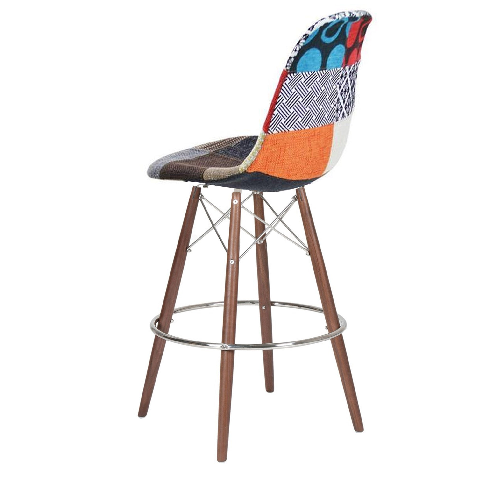 Bar Chair-Fabric- MSB0018F-W -  كرسي مرتفع - قماش - Shop Online Furniture and Home Decor Store in Dubai, UAE at ebarza