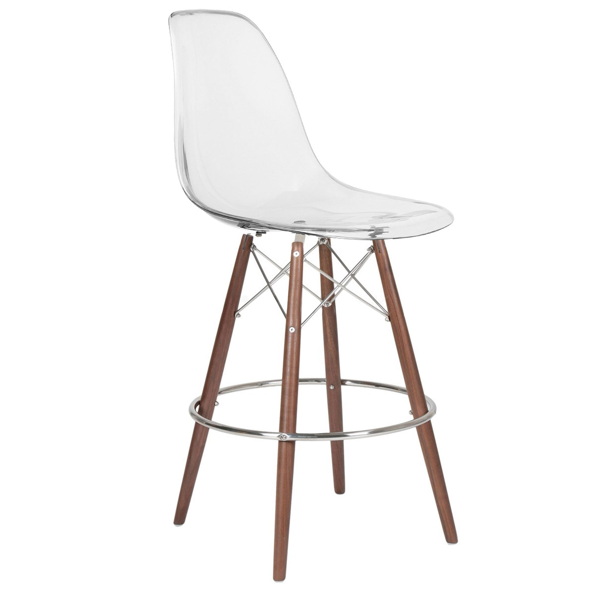 Bar Chair-Acrylic MSB00155CW -  كرسي مرتفع - اكريليك - Shop Online Furniture and Home Decor Store in Dubai, UAE at ebarza