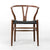Dining Chair Solid ash wood and Natural Cord Seat HW 00425W