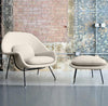 Pre-Order 60 days delivery Lounge Chair and Ottoman BP8036-W - ebarza