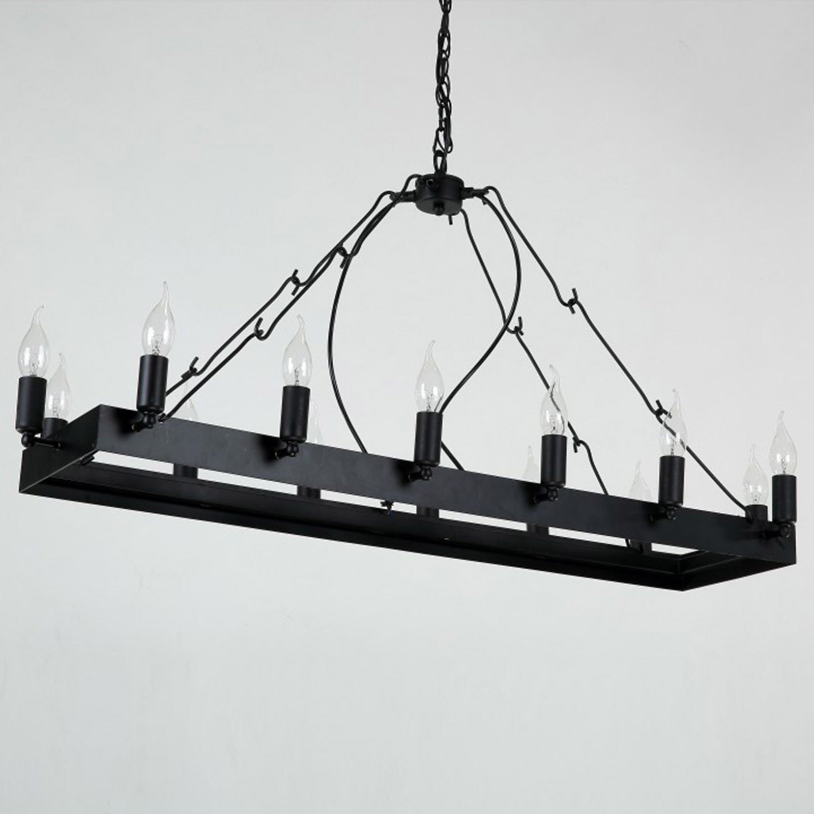 12 Heads  Vintage  Chandelier  CY-DD-215 -  ثريا 12 رأس - Shop Online Furniture and Home Decor Store in Dubai, UAE at ebarza