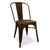 Dinning Chair with solid wood seat TX0076-DBR