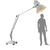 PRE-ORDER 35 DAYS DELIVERY JUMBO RETRO FLOOR LAMP CL1224-W