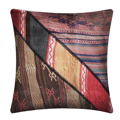 KLIM HANDMADE OVER DYED CUSHION COVER 55X55 KEL1